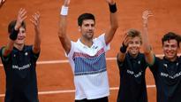 French Open: Novak Djokovic escapes Diego Schwartzman's clutches in five sets