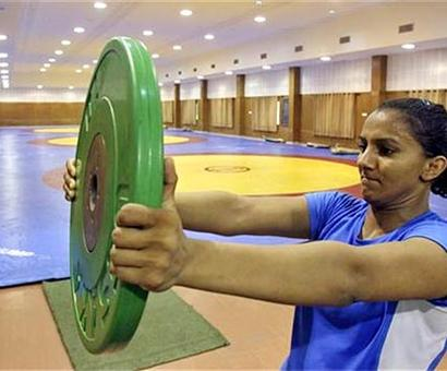 Pressure nothing compared to growing up rigours: Geeta Phogat