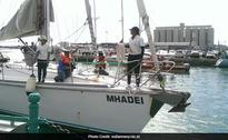 All-Women Naval Team Back To Goa After Sailboat Voyage To Mauritius
