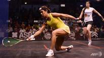Squash: Nicol David crashes out of world championship