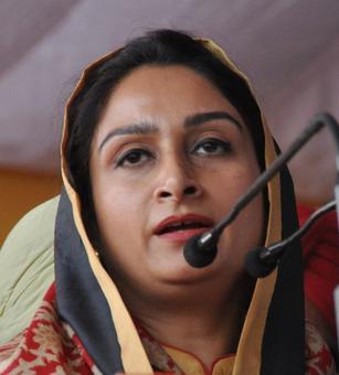 SAD-BJP will score a hat-trick in Punjab polls: Harsimrat Badal