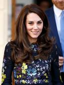 Kate Middleton shows off her new hairstyle as she joins William and Harry at charity event