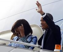 Pictures: Barack Obama in India