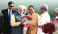 Warm send off to Prime Minister Narendra Modi