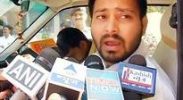 Lalu son Tejaswi describes Nitish as political guru