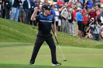 Pampling wins in Vegas to end 10-year US PGA win drought