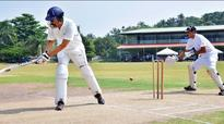 Excise Commissioner Rishi Raj Singh pads up for office tourney