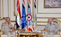 BDF Staff Chief meets Egyptian Counterpart