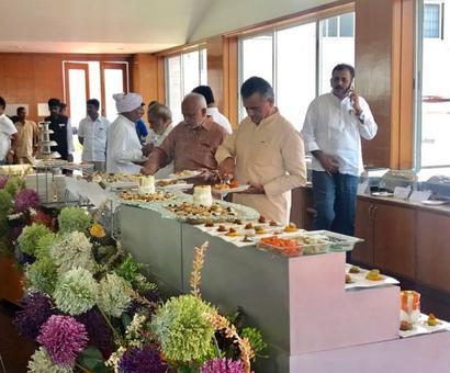 Ahead of RS polls, Congress flies 40 Gujarat MLAs to Bengaluru