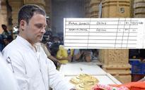 Rahul Gandhi clears air on Somnath signature row: Indira and him Shiva bhakts