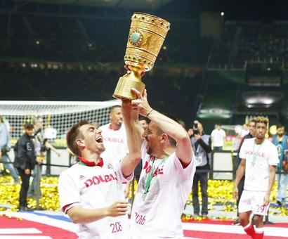 Bayern win German Cup in Guardiola farewell