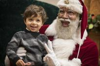 Mall of America welcomes its first black Santa