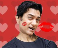 First Slap Now Kiss. People Please Make Up Your Mind About Aamir Khan Already