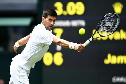 Wimbledon: Djokovic's solid start to title defence; Federer advances