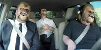 Viral sensation Chewbacca Mum did Carpool Wookie-oke with James Corden and JJ Abrams