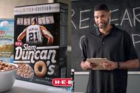 Tim Duncan has his own cereal now, and the commercial for it is so wonderful