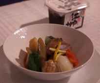 Now, enjoy Miso, a traditional Japanese seasoning, onboard Japan's Nippon Airways