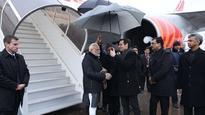 WEF summit: PM Narendra Modi arrives in Zurich