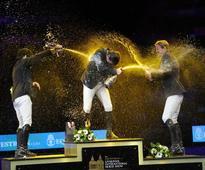 Irish riders Merseyside medal romp