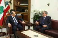 Amr Moussa pays visit to President Aoun