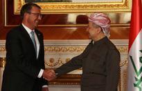 Carter in Irbil to assess Mosul fight, praise peshmerga push, look next to advance on Raqqa