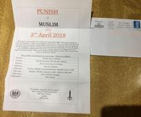 'Punish a Muslim': UK police investigate anti-Muslim hate letters