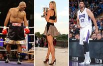 Tall order! 30 towering athletes