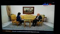 Exclusive Interview with French Defense Minister by Nile TV's Omneya El Hamzawi
