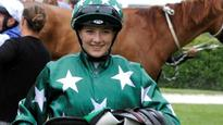 Courtney Barnes up for challenge in competitive senior jockey ranks