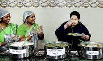 Jaya spends time eating simple food, reading newspapers