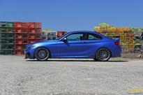 Turner's Project BMW 228i Estoril Blue gets new upgrades