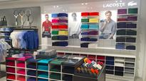 Lacoste Singapore opens third airport store