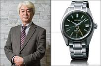 Top Japanese honour for SEIKO designer Kosugi…