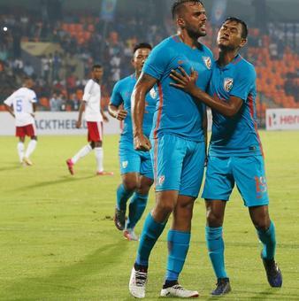 Indian football team rewrite history