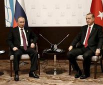 Erdogan, Putin talk for the first time since Turkey downed Russian plane last year