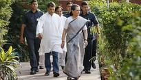 Sonia Gandhi back home after 'routine medical check-up', Rahul accompanies her