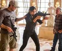 Katrina Kaif trains with 'THE DARK KNIGHT RISES' stunt director - News