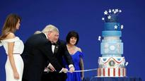 Trump's inauguration cake a rip-off of Obama's cake: Chef