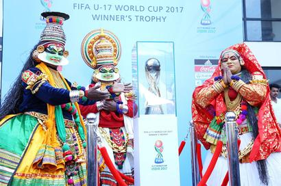 FIFA U-17 World Cup Trophy makes pit-stop in Kochi