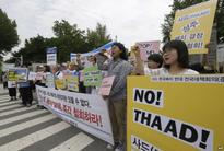 THAAD Radiation Fears Spark South Korean Protests