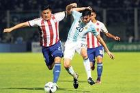 Argentina stunned, Vidal rescues Chile in WC qualifiers