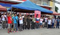 Gov Imee joins pro-Marcos caravan at SC