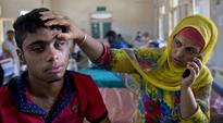 Five moved to AIIMS to save their eyesight