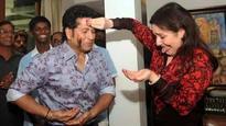 Sachin Tendulkar's birthday pictures with family goes viral on social media