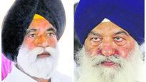 CM Badal with minister in the Kohar vs Phillaur dispute