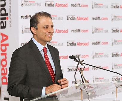 Preet Bharara gets an emotional farewell from colleagues