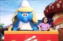 Roll out the blue carpet, the loveable Smurfs have arrived for MOTIONGATE Dubai!