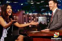 Priyanka goes LIVE again with Jimmy Kimmel