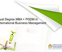 Dual Degree in International Business Management