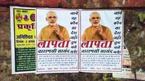 After Sonia and Rahul, now Modi missing posters in Varanasi
